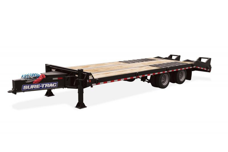 Sure-Trac 8.5X20+5 AIR BRAKE DECKOVER 61K Equipment Trailer