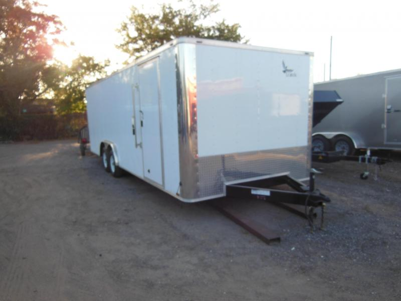 8.5 x 24  Enclosed Car Hauler Car / Racing Trailer