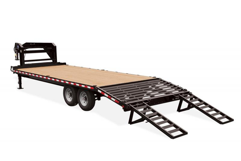 Sure-Trac 8.5X20+4 SD BEAVERTAIL DECKOVER 15K Equipment Trailer