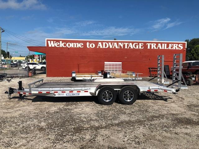 Sure-Trac Aluminum 7 x 20 Car / Racing Trailer