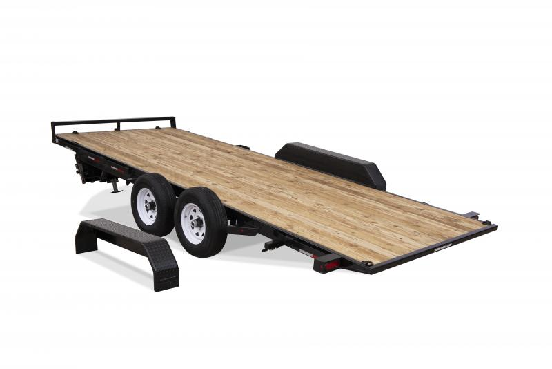Sure-Trac 7 x 18 TILT DECK 7K Car / Racing Trailer