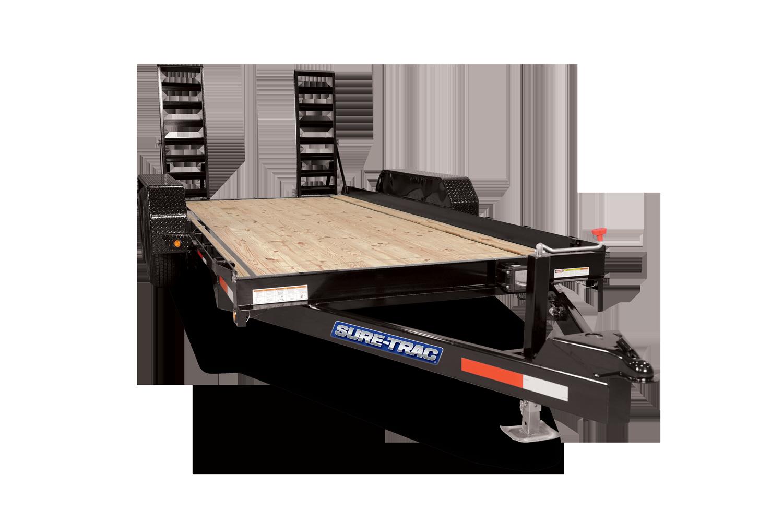Sure-Trac 7 X 20 SKID STEER 10K Equipment Trailer