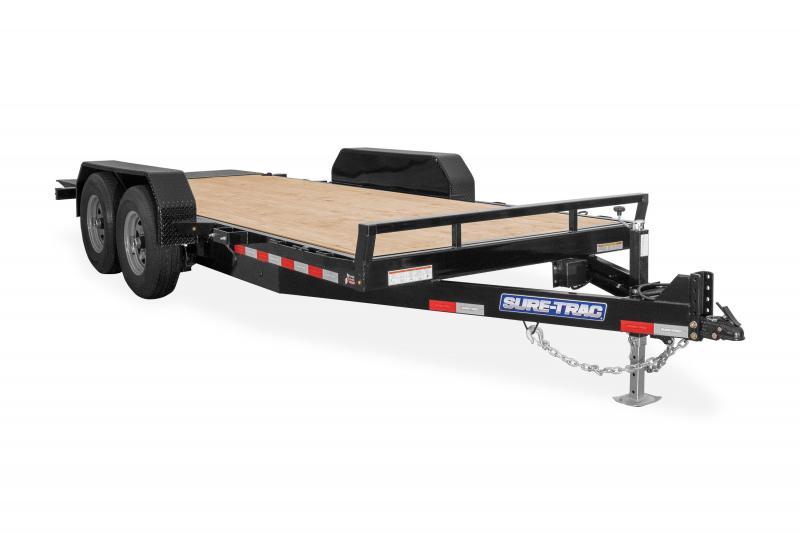 Sure-Trac 7X16 TILT BED TA 10K Equipment Trailer