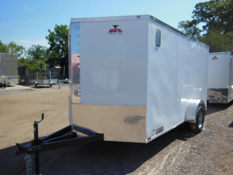 Anvil 7 x 12 SA Landscape Enclosed Cargo Trailer