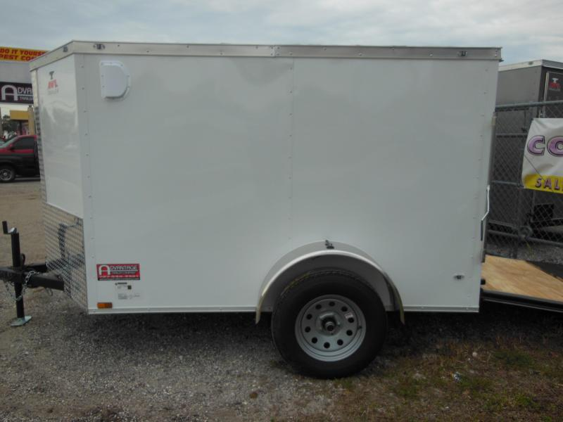 Anvil 5 x 8 double rear doors Enclosed Cargo Trailer