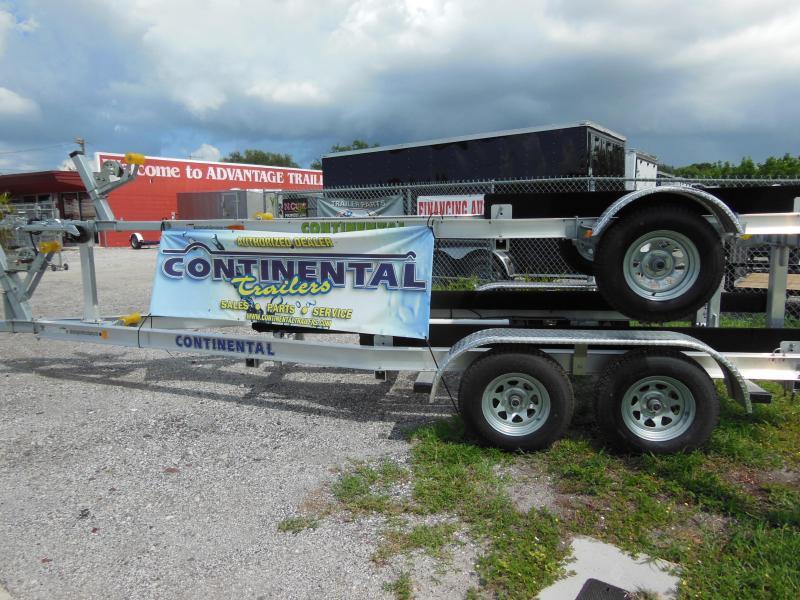 2021 Continental Trailers Aluminum A2036B Boat Trailer