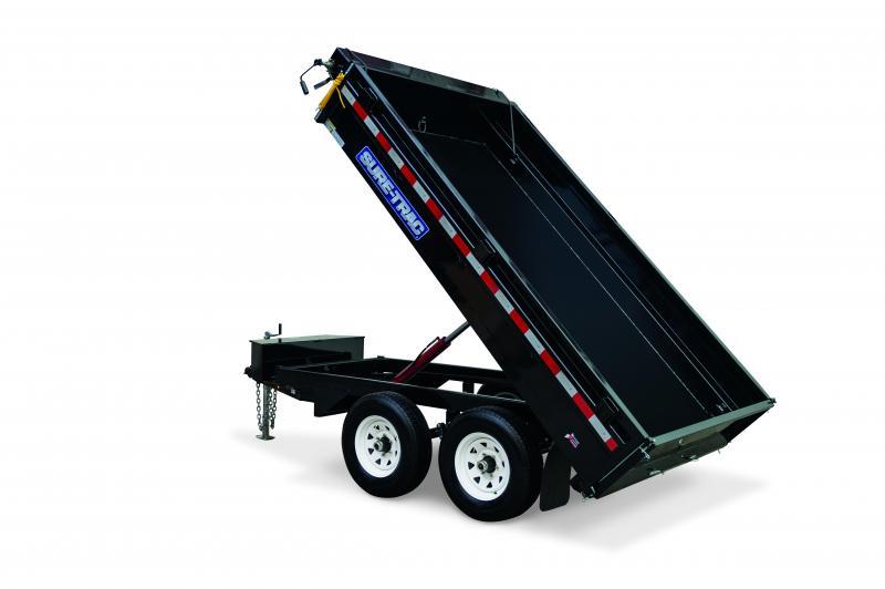 Sure-Trac 6x10 Deckover Sandard duty 10K Dump Trailer