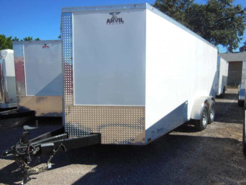 Anvil 7 X 16 Contractor Enclosed Cargo Trailer