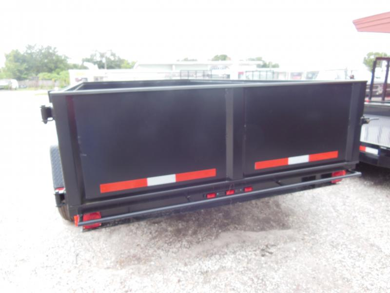 2020 Triple Crown Trailers 7 X 14 LP 14K Dual Ram Dump Dump Trailer