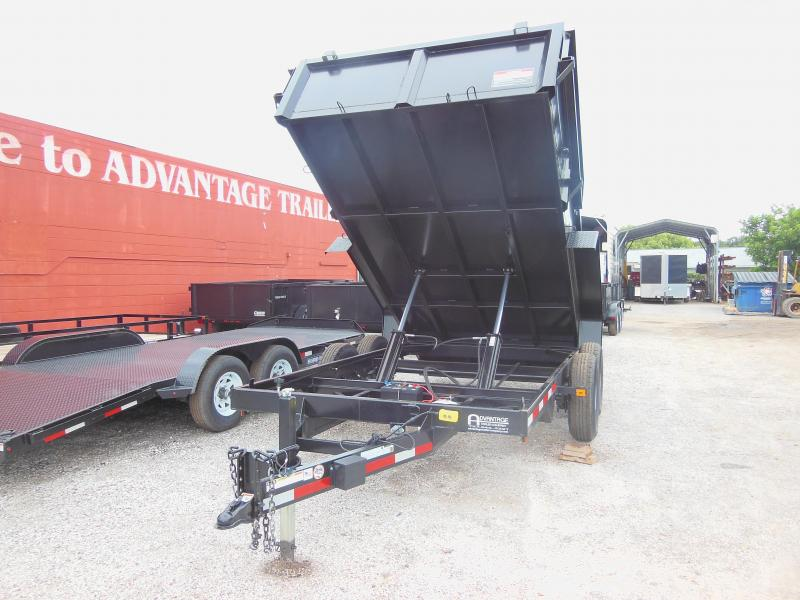 Triple Crown Trailers 7 X 14 LP 14K Dual Ram Dump Dump Trailer