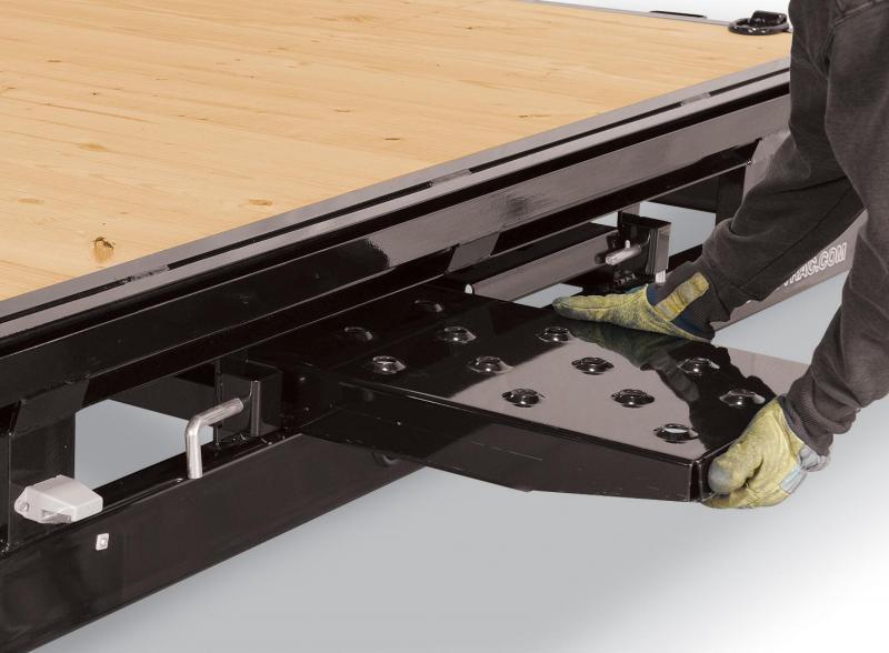 Sure-Trac 8.5X20 FLATBED DECKOVER LP 10K Equipment Trailer