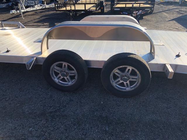 2021 Mission 7 x 18 Aluminum Car / Racing Trailer