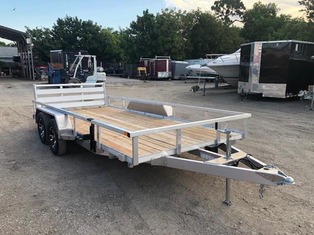 Sure-Trac Aluminum 7 x 16 Utility Trailer