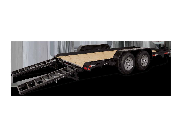 Sure-Trac 7 X 18 SKID STEER 14K Equipment Trailer