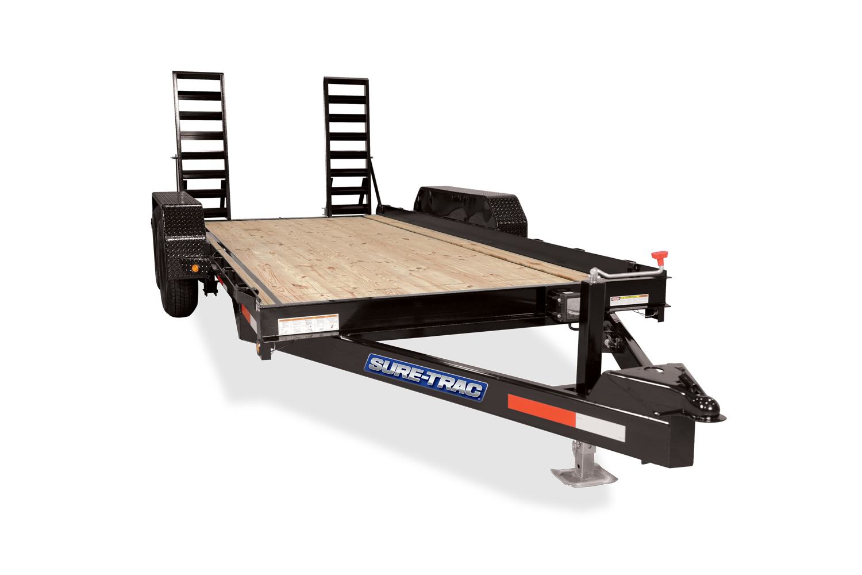 Sure-Trac 7 X 14 SKID STEER 14K Equipment Trailer