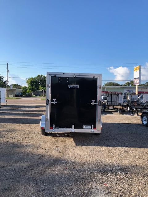 2021 E-Z Hauler Aluminum 6 x 12 Enclosed Cargo Trailer