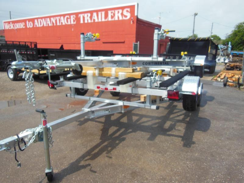 DOUBLE JET-SKI - AWC25E Aluminum double PWC Watercraft Trailer