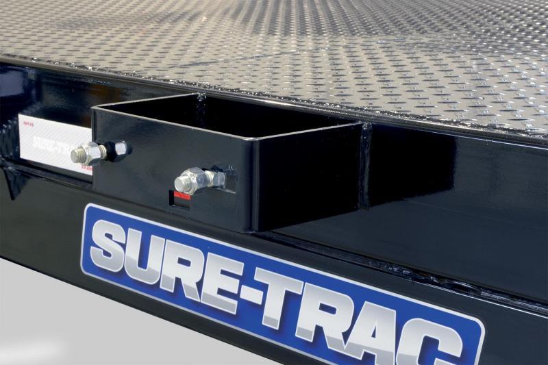 Sure-Trac 7X18 STEEL DECK 10K Car / Racing Trailer