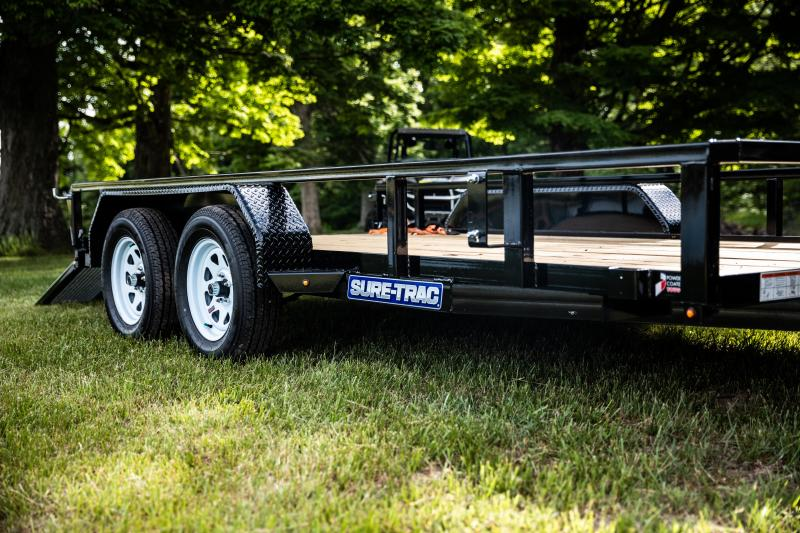 Sure-Trac 7 X 18 10K Utility Trailer
