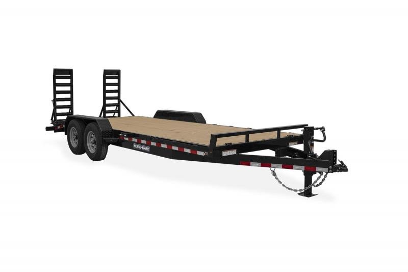 Sure-Trac 7 X 16 IMPLEMENT 10K Equipment Trailer