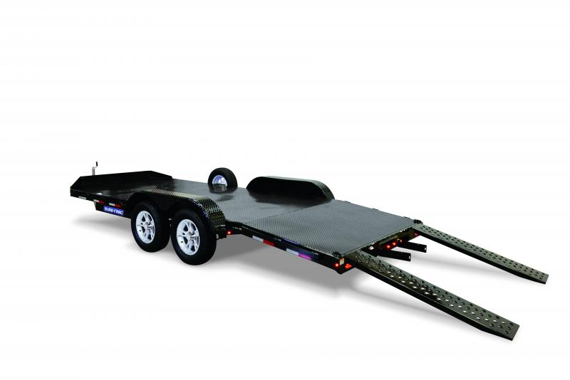 Sure-Trac 7 x 18 Steel Deck Car / Racing Trailer