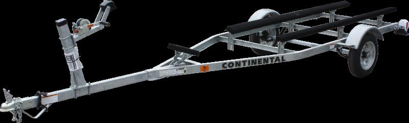 Continental Trailers GT1612 Galvanized Canoe/Kayak Watercraft Trailer