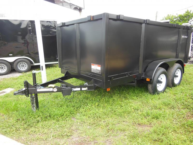 Triple Crown Trailers 6 x 12 4' sides Dump Trailer