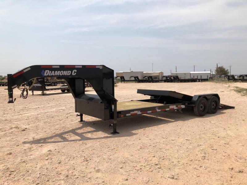 2020 Diamond C 24' 18k Gooseneck Tilt Trailer