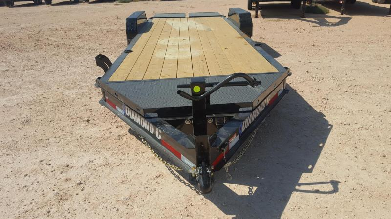 2021 Diamond C Trailers 14K 22' HD Equipment Trailer