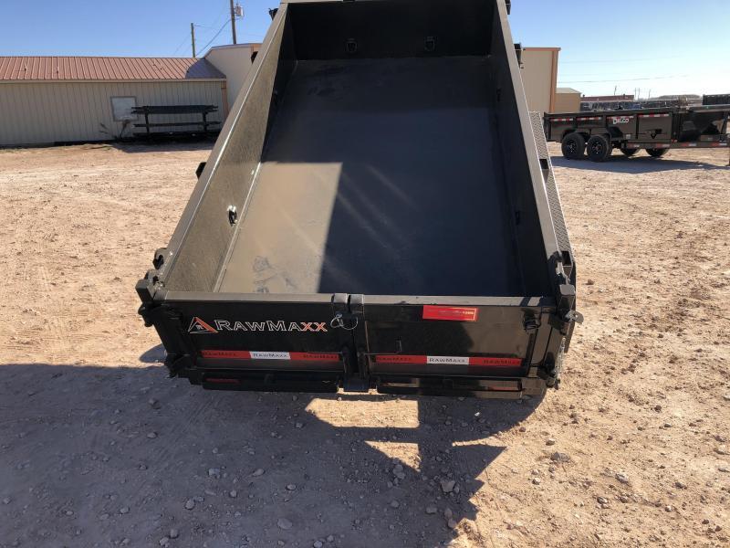 "2020 RawMaxx 7K 60"" X 10' Dump Trailer"