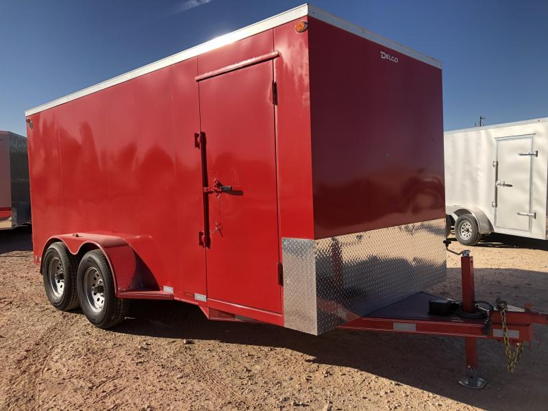 2020 Delco 6.8x16 HD Steel Cargo Trailer