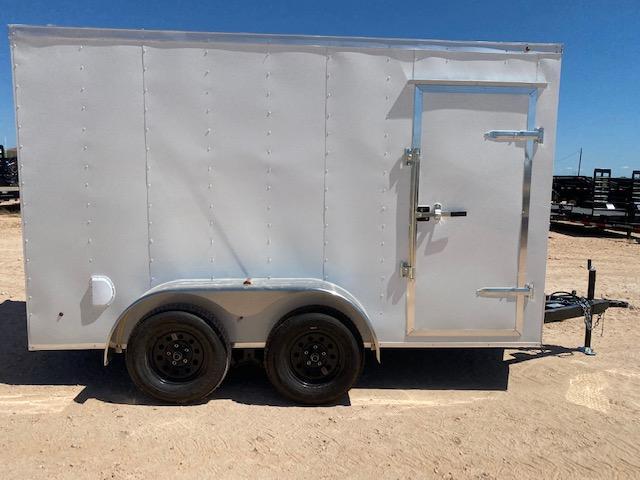 2022 Salvation 6x12 Tandem Cargo Trailer w/  Ramp
