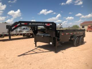 2020 Iron Bull 16' Gooseneck Dump Trailer