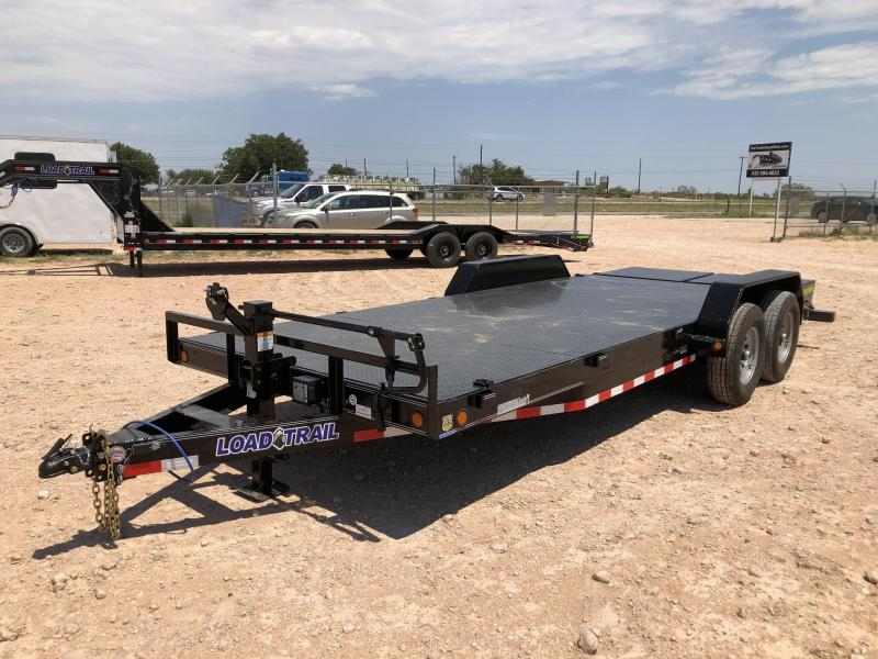 2021 Load Trail 20' Steel Deck Carhauler w/ Max Ramps