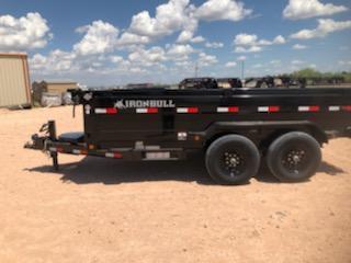 2020 Iron Bull 14' Bumper Pull Dump Trailer