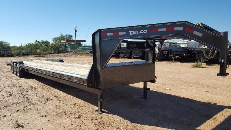 2021 Delco 102 x 40 Gooseneck Carhauler 3-7K Axles