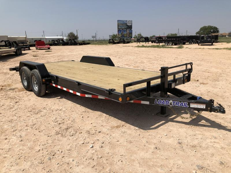 2020 Load Trail 20' 14K Carhauler Dove Tail & Ramps Trailer