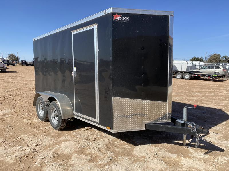 2020 Spartan 6x12 Enclosed w/ Ramp Door