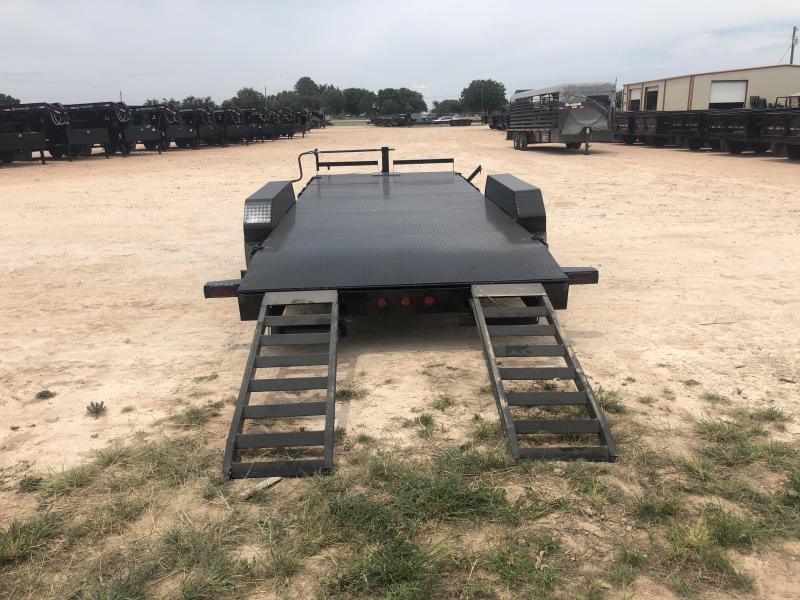 2021 Iron Bull 20' 14K Steel Deck Carhauler Trailer