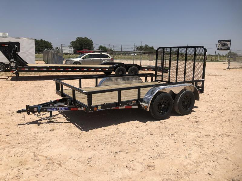 2021 Load Trail 12' 7K Landscape Utility Trailer