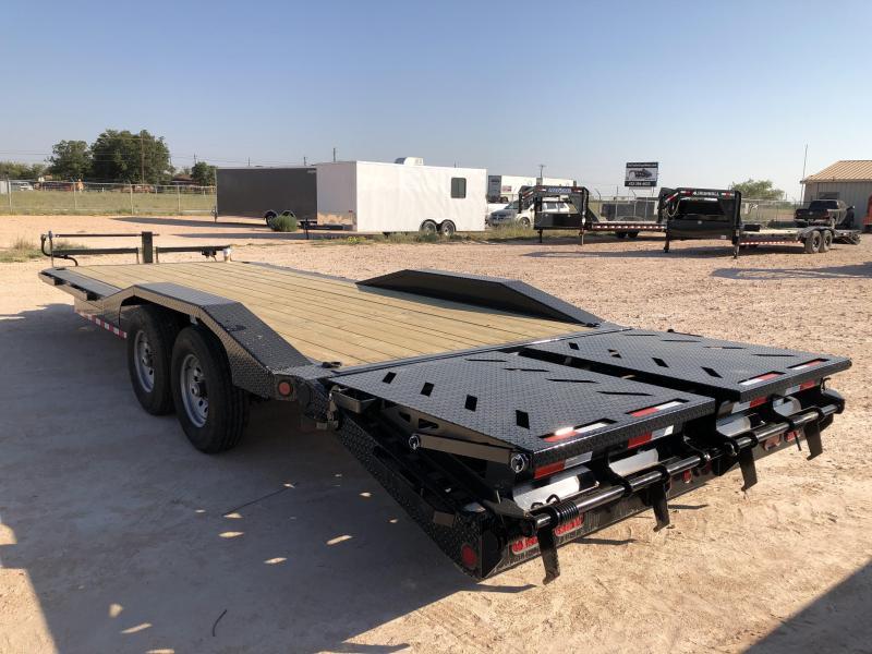 2021 Iron Bull 14K 102x24' Bumper Pull Trailer