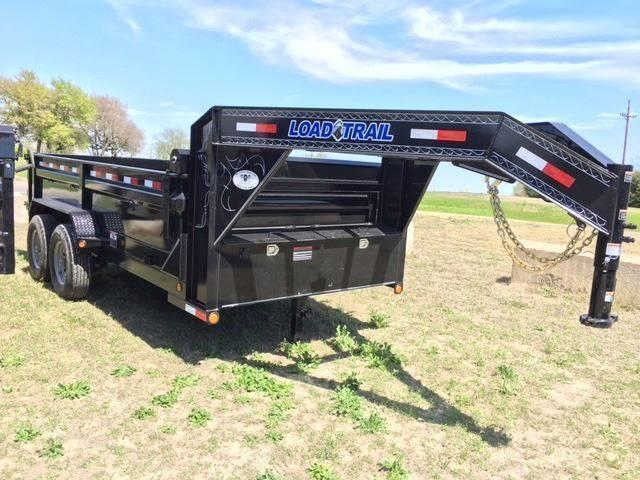 "2021 Load Trail 83"" x 14' Gooseneck w/ Scissor Lift"