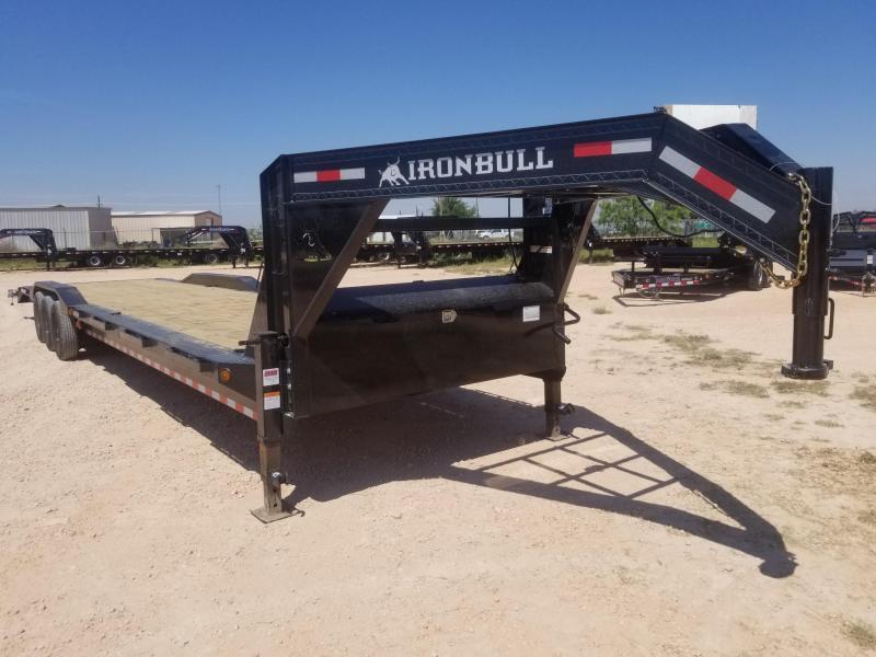 "2022 Iron Bull 102""x 40"" Gooseneck Car Hauler"
