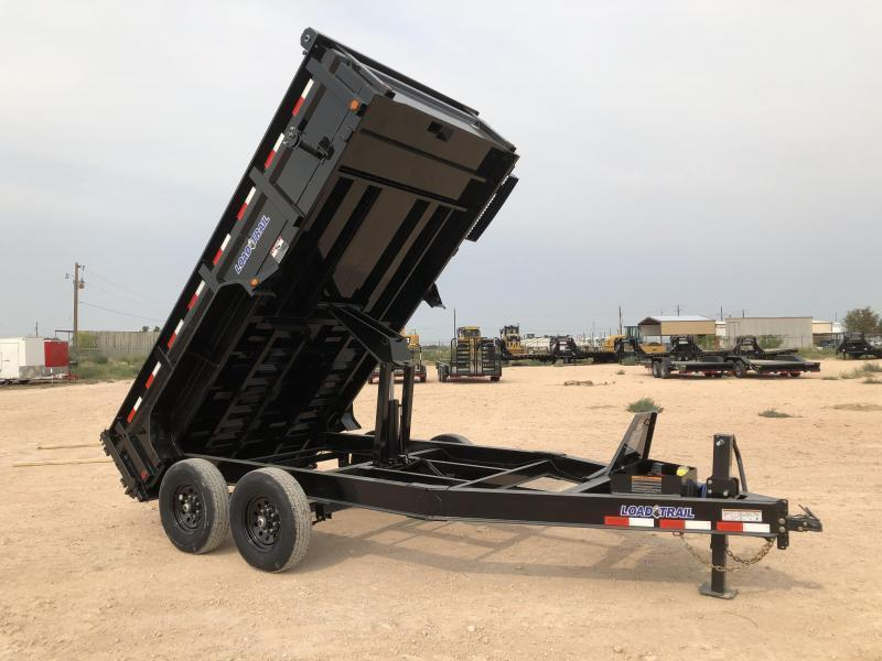 2021 Load Trail 14' 14K Bumper Pull Dump Trailer