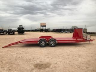 2020 Diamond C 20' Steel Deck Carhauler w/ Rock Shield