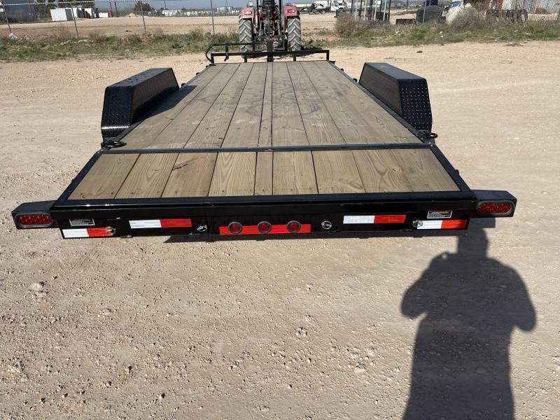 2021 Load Trail 20' 14K Wood Deck Carhauler Trailer