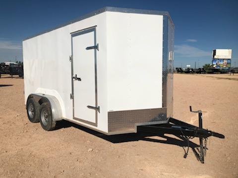 2020 Salvation Trailers 7x14 Enclosed Trailer