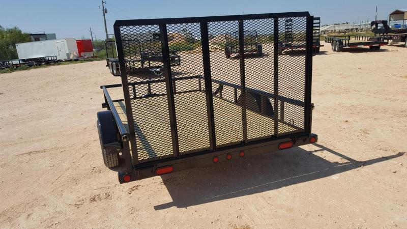 "2021 Load Trail 77""x12' Landscape Utility Trailer"