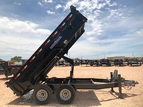 2020 Load Trail 14' 14K Dump Trailer w/ Hydraulic Jacks
