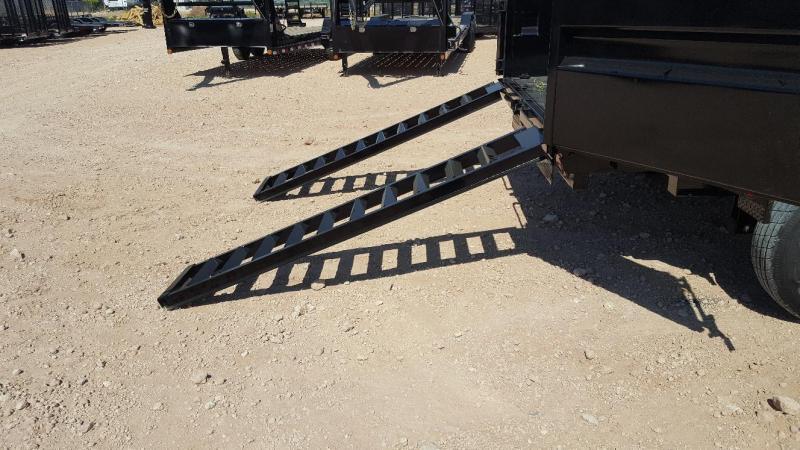 2020 Load Trail 14' 14K Dump Trailer w/ Hydraulic Jacks